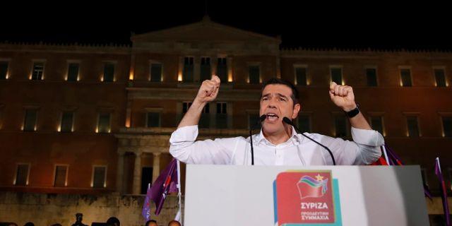 Tsipras kampanja i Aten. Thanassis Stavrakis / TT NYHETSBYRÅN/ NTB Scanpix