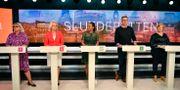 SVT:s slutdebatt  Anders Wiklund/TT / TT NYHETSBYRÅN