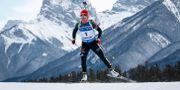 Tyskan Laura Dahlmeier under veckans tävlingar. Jeff McIntosh / TT NYHETSBYRÅN/ NTB Scanpix