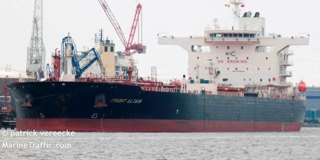 Arkivbild: Front Altair i Antwerpens hamn. Patrick Vereecke / TT NYHETSBYRÅN