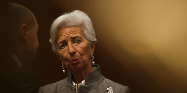 ECB-chefen Christine Lagarde Francisco Seco / TT NYHETSBYRÅN
