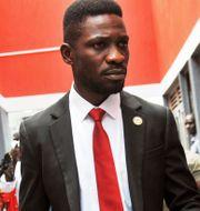 Bobi Wine. Ronald Kabuubi / TT NYHETSBYRÅN