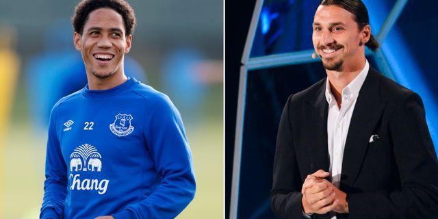 Steven Pienaar och Zlatan Ibrahimovic. Bildbyrån.