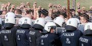 Polis vid Österrikes gräns mot Slovenien 2018. Ronald Zak / TT NYHETSBYRÅN