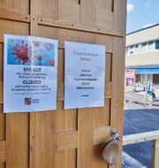Gällivare hade stängt kulturhuset när smittan var som värst i mitten av juni. Hans-Olof Utsi/TT / TT NYHETSBYRÅN