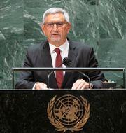 Kap Verdes avgående president Jorge Carlos de Almeida Fonseca Eduardo Munoz / TT NYHETSBYRÅN
