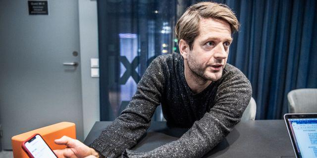 Sebastian Siemiatkowski, grundare och vd Lars Pehrson/SvD/TT / TT NYHETSBYRÅN