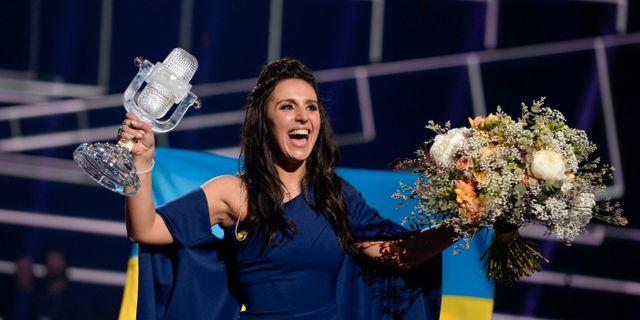 Jamala heter egentligen Susana Dzjamaladinova. Arkivbild. TT NEWS AGENCY / TT NYHETSBYRÅN