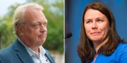 Mikael Odenberg och Åsa Romson. TT