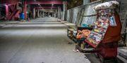 Avspärrningar i Surabaya i Indonesien. JUNI KRISWANTO / TT NYHETSBYRÅN
