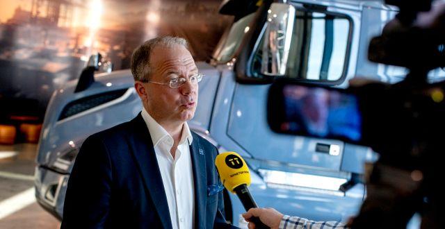 Vd Martin Lundstedt.  Adam Ihse/TT / TT NYHETSBYRÅN