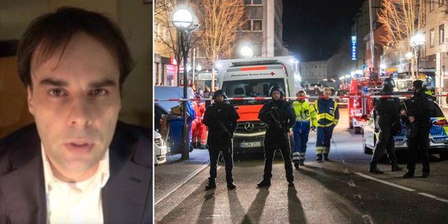 Tobias Rathjen pekas ut som misstänkt för dåden i Hanau. Youtube och TT