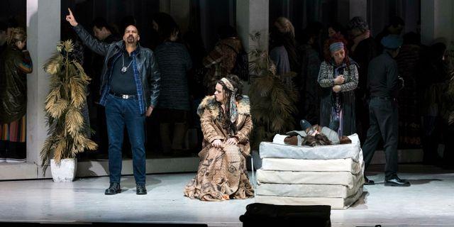 Repetitioner på Erkel-teatern i Budapest. Marton Monus / TT NYHETSBYRÅN