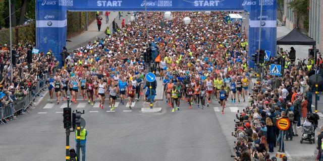 Stockholm Marathon Pontus Lundahl/TT / TT NYHETSBYRÅN