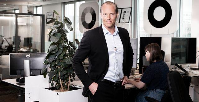 Mikael Syding, investerare Magnus Sandberg