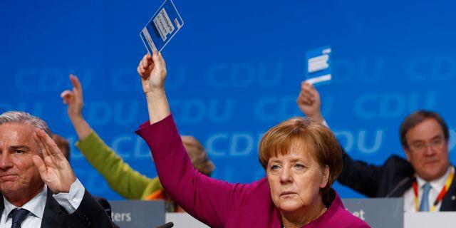 Tyska s rostar om regeringsfragan