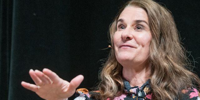 Melinda Gates Tomas Oneborg/SvD/TT / TT NYHETSBYRÅN