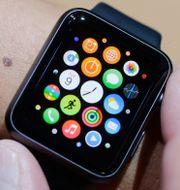 Bild på en Apple Watch.  Marcio Jose Sanchez / TT NYHETSBYRÅN/ NTB Scanpix