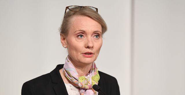 Karin Tegmark Wisell. Fredrik Sandberg /TT / TT NYHETSBYRÅN