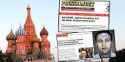 Röda torget i Moskva, skärmdumpar från rapporten. ≈serud, Lise / TT NYHETSBYR≈N