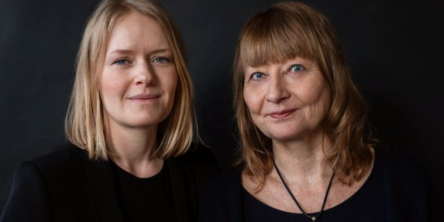 Aftonbladet-journalisterna Kristina Edblom och Kerstin Weigl. Sofia Runarsdotter/Natur & Kultur
