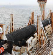 Arkivbild: Gasledningen Nord Stream 2 under uppbyggnad utanför Laage, nordöstra Tyskland.  BERND WUSTNECK / dpa