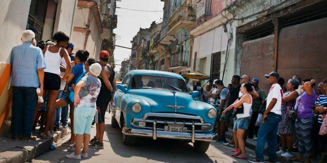 Havanna i maj tidigare i år.  Ramon Espinosa / TT NYHETSBYRÅN