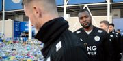 Leicester Citys kapten Wes Morgan.  Rui Vieira / TT NYHETSBYRÅN/ NTB Scanpix