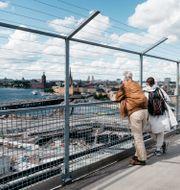 Katarinahissen, Stockholm. Lisa Arfwidson/SvD/TT / TT NYHETSBYRÅN
