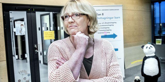 Finanslandstingsrådet Irene Svenonius (M).  Tomas Oneborg/SvD/TT / TT NYHETSBYRÅN