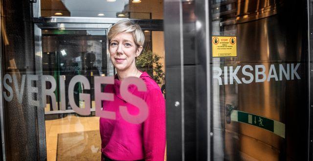 Anna Breman blir ny vice riksbankschef i december Tomas Oneborg/SvD/TT / TT NYHETSBYRÅN