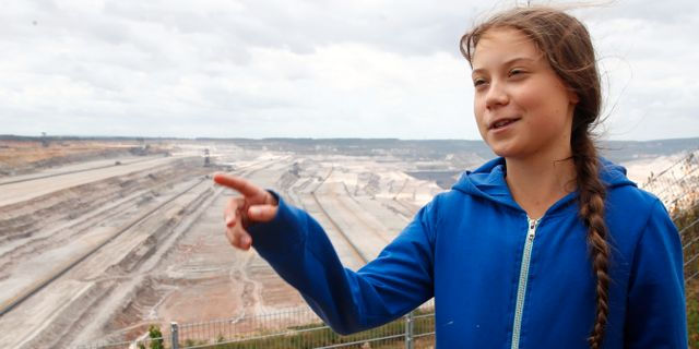 Greta Thunberg. WOLFGANG RATTAY / TT NYHETSBYRÅN
