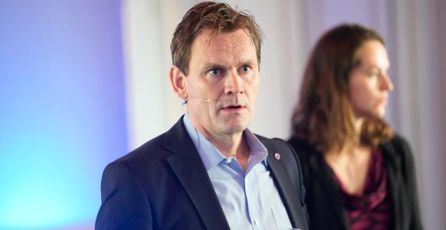 Nels koncernchef Jon Andre Løkke. Fredrik Hagen / TT NYHETSBYRÅN