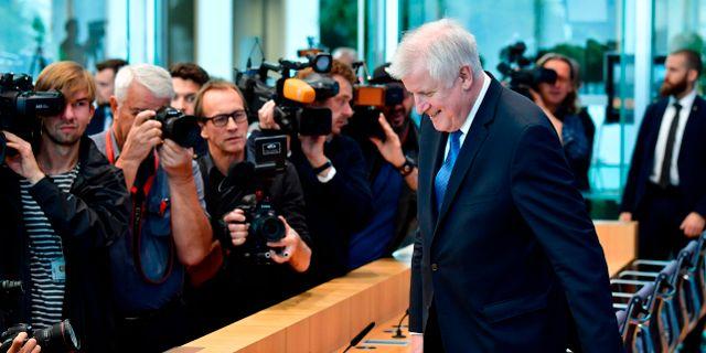 Seehofer.  TOBIAS SCHWARZ / AFP