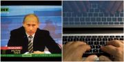 Arkivbild: Sändning från Russia Today TT