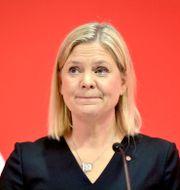 Sveriges finansminister Magdalena Andersson (S). Jessica Gow /TT / TT NYHETSBYRÅN