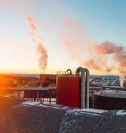 Översiktsbild över gruvan i Kiruna. Hanna Franzén/TT / TT NYHETSBYRÅN