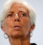 ECB:s chef Christine Lagarde.  Hannibal Hanschke / TT NYHETSBYRÅN