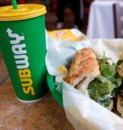 Mat från Subways/Arkivbild. Charles Krupa / TT NYHETSBYRÅN