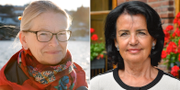 Anna Skarhed, till vänster, och Anne Ramberg. TT