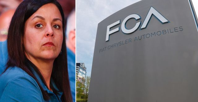 UAW:s vice ordförande och fackbas på Fiat Chrysler Cindy Estrada. TT