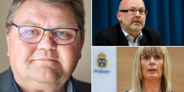 Peter Lundgren, Magnus Berggren och Ulrika Rogland. TT