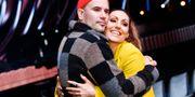 Martin Stenmarck och svägerskan Lina Hedlund tävlar mot varandra i Melodifestivalens tredje deltävling som sänds från Tagera Arena på lördag. Foto: Claudio Bresciani / TT / TT NYHETSBYRÅN