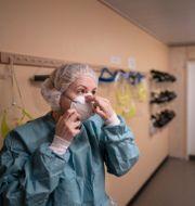 Intensivvårdspersonal på Östra sjukhuset i Göteborg. Arkivbild. Björn Larsson Rosvall /TT / TT NYHETSBYRÅN