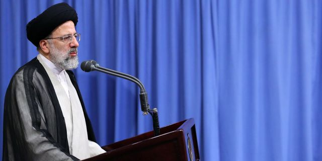 Irans högsta ledare Ayatollah Ali Khamenei  HO / KHAMENEI.IR