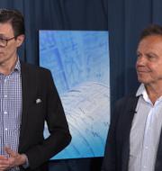 First Ventures grundare Rune Nordlander och Peter Werme. Pressbild