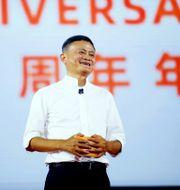 Arkivbild: Alibaba-grundaren Jack Ma.  TT NYHETSBYRÅN