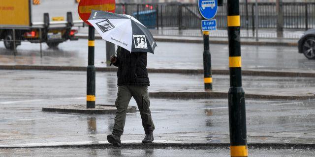 Sommaren har varit regnig och ruskig på många håll. Fredrik Sandberg/TT / TT NYHETSBYRÅN