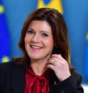 Arbetsmarknadsminister Eva Nordmark  Jonas Ekströmer/TT / TT NYHETSBYRÅN