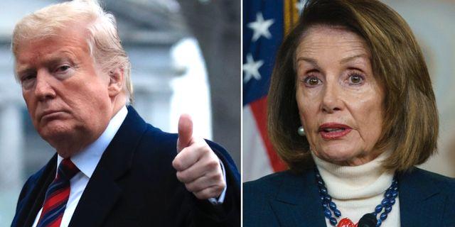 Trump / Pelosi.  TT